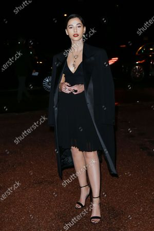 Editorial image of Givenchy show, Arrivals, Fall Winter 2020, Paris Fashion Week, France - 01 Mar 2020