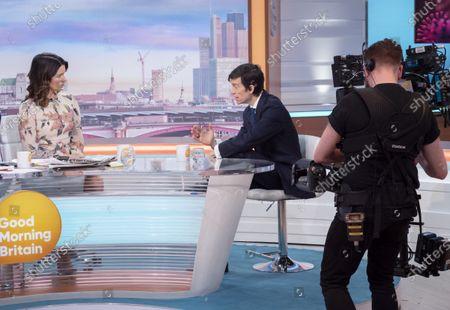 Stock Photo of Susanna Reid and Rory Stewart