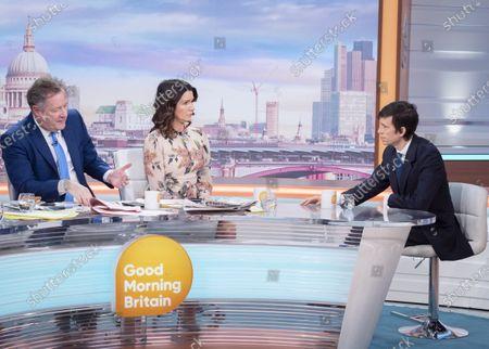 Editorial photo of 'Good Morning Britain' TV show, London, UK - 03 Mar 2020