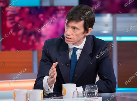 Editorial picture of 'Good Morning Britain' TV show, London, UK - 03 Mar 2020