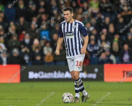 3rd March 2020, The Hawthorns, West Bromwich, England; Emirates FA Cup 5th Round, West Bromwich Albion v Newcastle United : Gareth Barry (18) of West Bromwich Albion during the game