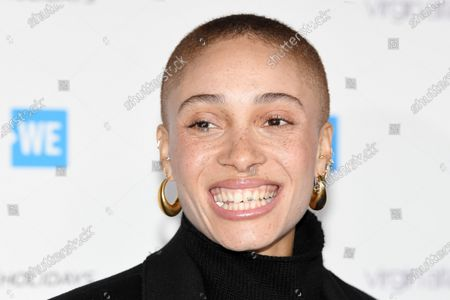 Editorial image of WE Day UK, Arrivals, The SSE Arena, Wembley, London, UK - 04 Mar 2020