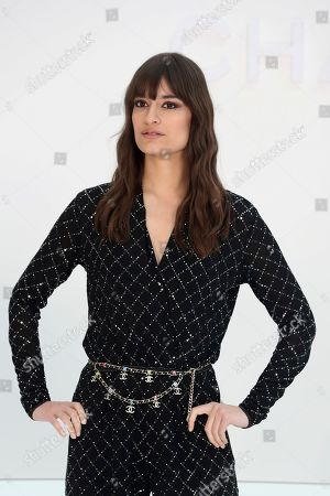 French singer Clara Luciani attends Chanel fashion collection during Women's fashion week Fall/Winter 2020/21 presented in Paris