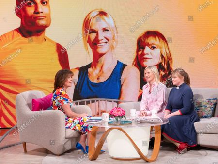 Stock Picture of Lorraine Kelly, Jo Whiley and Kate Bottley