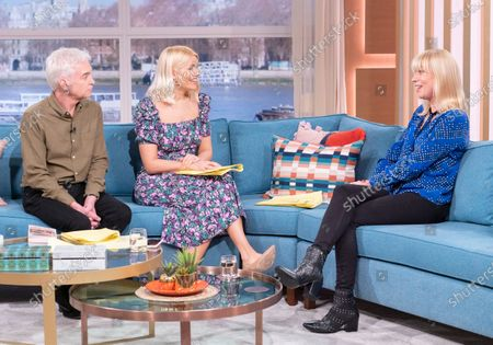 Phillip Schofield and Holly Willoughby with Sara Cox