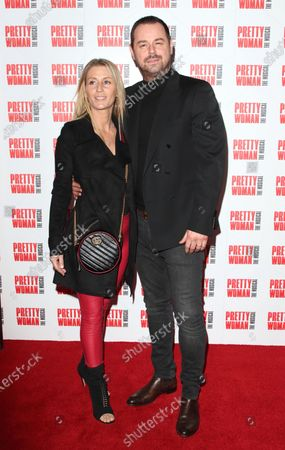 Stock Image of Danny Dyer and Joanne Mas
