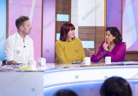 Ben Fogle, Janet Street-Porter and Saira Khan