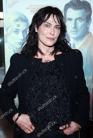 Editorial image of 'The Burnt Orange Heresy' film screening, Los Angeles, USA - 02 Mar 2020