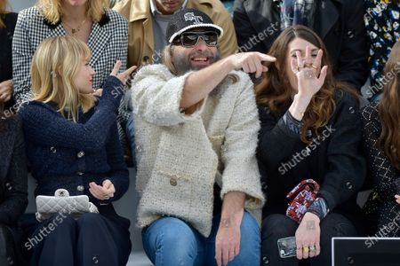 Editorial image of Chanel show, Front Row, Fall Winter 2020, Paris Fashion Week, France - 03 Mar 2020