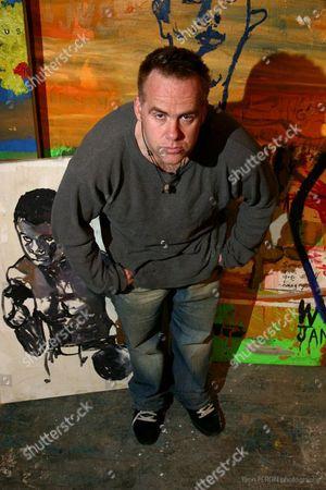 Editorial picture of Artist William Quigley, New York, America - 07 Dec 2009