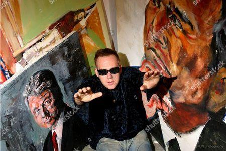 Editorial image of Artist William Quigley, New York, America - 07 Dec 2009