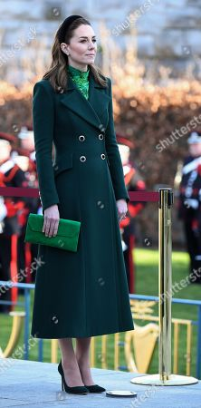 Catherine Duchess of Cambridge at the Garden of Remembrance in Dublin