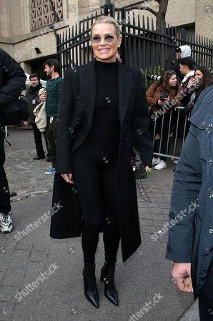 Editorial photo of Miu Miu show, Departures, Fall Winter 2020, Paris Fashion Week, France - 03 Mar 2020