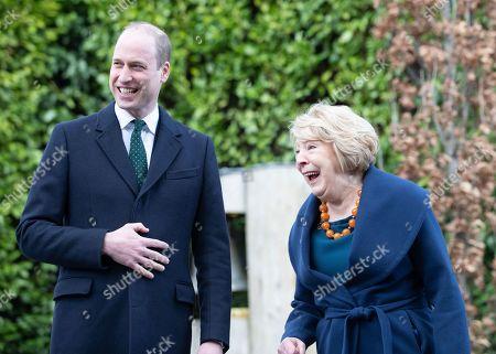 Prince William and Sabina Coyne