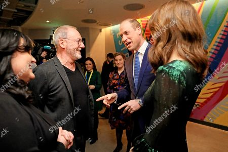 Prince William and Catherine Duchess of Cambridge attends a reception at the Guinness Storehouse's Gravity Bar, hosted by the British Ambassador to Ireland, and meet Liam Cunningham on the first day of their 3 day visit to Dublin, Ireland.