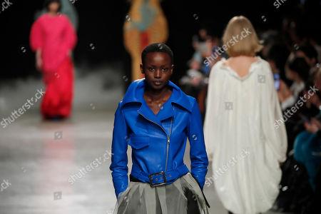 Editorial picture of Fashion F/W 2020/21 Shimada, Paris, France - 03 Mar 2020