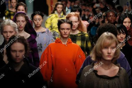 Editorial photo of Fashion F/W 2020/21 Shimada, Paris, France - 03 Mar 2020