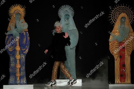 Editorial image of Fashion F/W 2020/21 Shimada, Paris, France - 03 Mar 2020