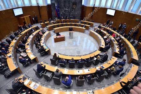 Editorial photo of Janez Jansa elected as Slovenian prime minister-designate, Ljubljana, Slovenia - 03 Mar 2020