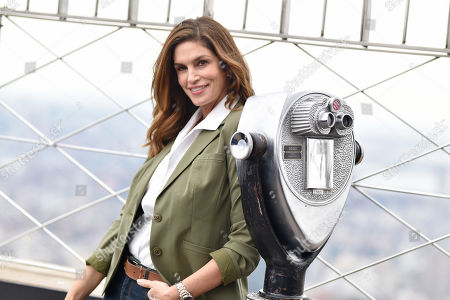 Editorial image of Cindy Crawford lights The Empire State Building, New York, USA - 03 Mar 2020