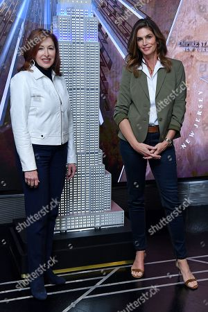 Lisa Gurwitch and Cindy Crawford