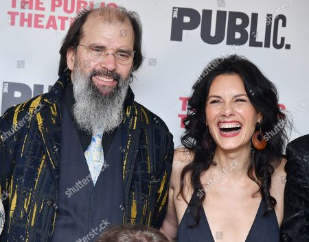 Stock Image of Steve Earle and Jessica Blank