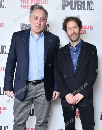 Stock Picture of David Aaron Baker and Tim Blake Nelson