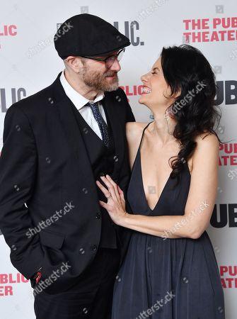 Erik Jensen and Jessica Blank