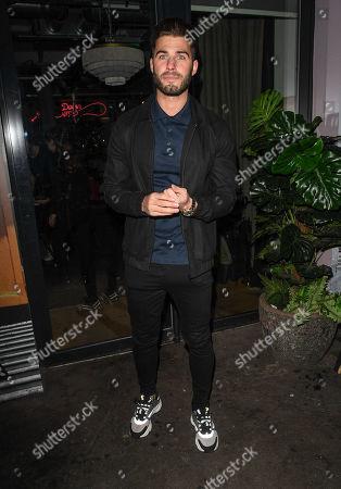 Editorial picture of 'Celebs Go Dating' Dinner, Scarlett Green Restaurant, London, UK  - 03 Mar 2020