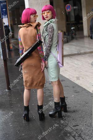 Ami Suzuki and Aya Suzuki