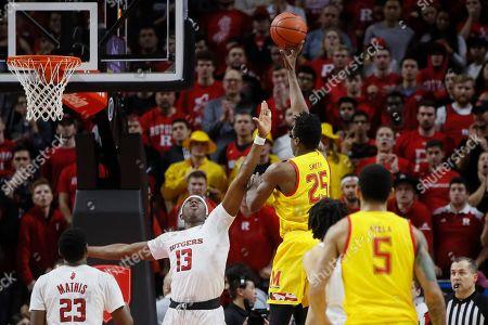 Editorial photo of Maryland Rutgers Basketball, Piscataway, USA - 03 Mar 2020