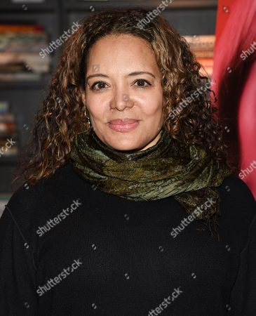 """Stock Image of Luna Lauren Velez attends a special screening of """"Swallow"""" at NeueHouse Madison Square, in New York"""