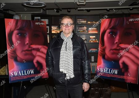 "David Basche attends a special screening of ""Swallow"" at NeueHouse Madison Square, in New York"