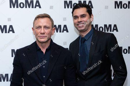 Daniel Craig and Rajendra Roy