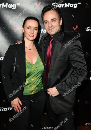 Stock Photo of Delphine Zentout and Laurent Amar