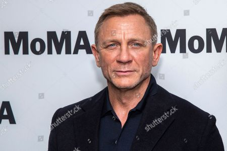 """Daniel Craig attends the opening night of the """"In Character: Daniel Craig,"""" film series at the Museum of Modern Art, in New York"""