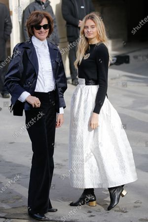 Editorial image of Chanel show, Arrivals, Fall Winter 2020, Paris Fashion Week, France - 03 Mar 2020