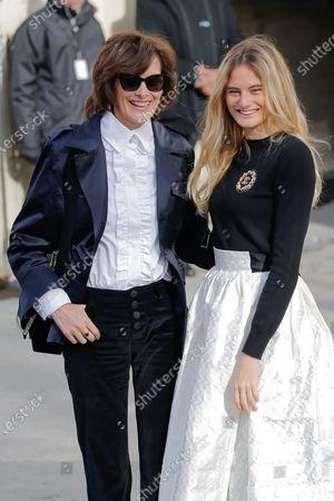 Ines de la Fressange and Violette Marie d'Urso