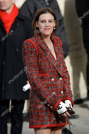 Editorial picture of Chanel show, Arrivals, Fall Winter 2020, Paris Fashion Week, France - 03 Mar 2020