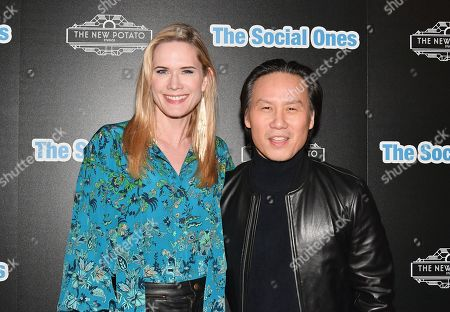 Stephanie March and BD Wong