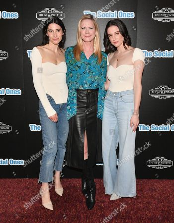 Editorial photo of 'The Social Ones' film premiere, Arrivals, Village East Cinema, New York, USA - 03 Mar 2020