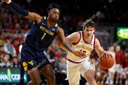 Editorial image of West Virginia Iowa St Basketball, Ames, USA - 03 Mar 2020