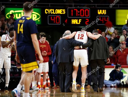Editorial picture of West Virginia Iowa St Basketball, Ames, USA - 03 Mar 2020