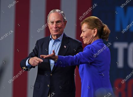 Michael Bloomberg and Judy Sheindlin