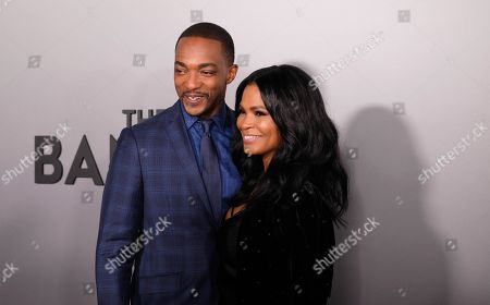 Anthony Mackie and Nia Long