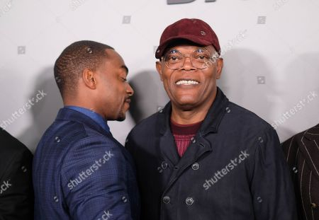 Anthony Mackie and Samuel L. Jackson