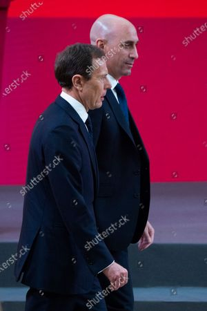Emilio Butragueno and Luis Rubiales