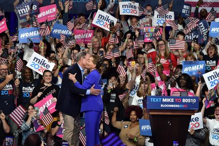Editorial picture of Mike Bloomberg, US Presidential Election Campaigning, Palm Beach County Convention Center, USA - 03 Mar 2020