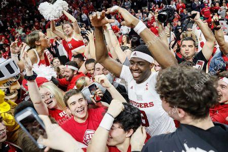 Editorial image of Maryland Rutgers Basketball, Piscataway, USA - 03 Mar 2020