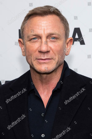 """Daniel Craig attends the opening night of the """"In Character: Daniel Craig"""" film series at the Museum of Modern Art, in New York"""